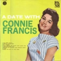 CONNIE FRANCIS A Date With Connie Francis JAPAN 10