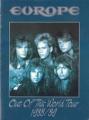 EUROPE 1988/89 JAPAN Tour Program