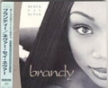 BRANDY Never Say Never JAPAN CD w/Bonus Track