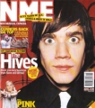 HIVES NME (4/5/02) UK Magazine