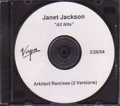 JANET JACKSON All Nite (Don't Stop) USA CD5 Test Pressing (3/26)