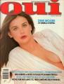 DEMI MOORE Oui (3/82) USA Magazine