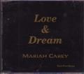 MARIAH CAREY Love & Dream JAPAN CD Promo Only SUPER RARE