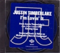 JUSTIN TIMBERLAKE I`m Lovin` It USA CD5 Promo