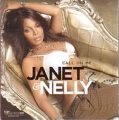 JANET & NELLY Call On Me USA CD5 Promo