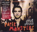 DAVE GAHAN Paper Monsters USA CD w/Bonus DVD