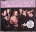 MARIAH CAREY featuring WESTLIFE Against All Odds UK CD5 w/4 Tracks+Poster