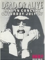 DEAD OR ALIVE U.S. Promotional Pass - Roxy NYC 1996