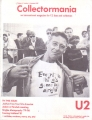 U2 Collectormania (Volume 1, Number 1 Summer 1987) Holland Fanzine