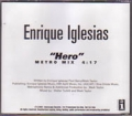 ENRIQUE IGLESIAS Hero USA CD5 Promo w/Metro Mix