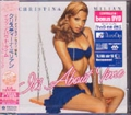 CHRISTINA MILIAN It's About Time JAPAN CD w/Bonus Tracks + DVD
