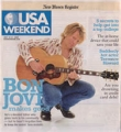 BON JOVI USA Weekend (7/29-31/05) USA Magazine