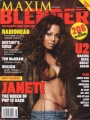JANET JACKSON Maxim Blender USA Magazine