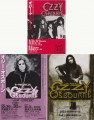 OZZY OSBOURNE Set of 3 JAPAN Promo Tour Flyer