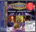 NIGHT RANGER Rockin' Shibuya 2007 JAPAN 2CD