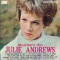 JULIE ANDREWS Broadway's Hits JAPAN LP