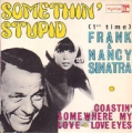 NANCY SINATRA and FRANK SINATRA Somethin' Stupid FRANCE 7