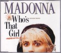 MADONNA Who's That Girl GERMANY CD5