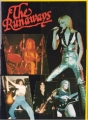 THE RUNAWAYS 1977 JAPAN Tour Program SUPER RARE!!!