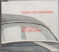 ECHO AND THE BUNNYMEN Don`t Let It Get You Down UK CD5