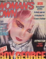 CULTURE CLUB Woman's Own (10/20/84) UK Magazine