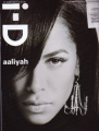 AALIYAH i-D (9/01) UK Magazine
