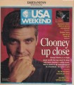 GEORGE CLOONEY USA Weekend (9/26-28/97) USA Newspaper Supplement Magazine