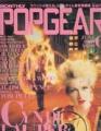 CYNDI LAUPER Popgear (6/89) JAPAN Magazine