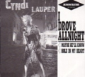 CYNDI LAUPER I Drove All Night JAPAN 12' Promo Only w/3 Tracks