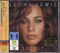 LEONA LEWIS Spirit JAPAN CD w/3 Bonus Tracks Deluxe Edition w/DVD
