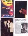 DURAN DURAN Duran Digest (Set of 3 Issues+2 Newsletters) USA Fanzine