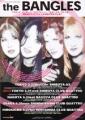 BANGLES 2003 JAPAN Tour Flyer