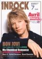BON JOVI Inrock (7/07) JAPAN Magazine