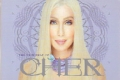 CHER Very Best Of Cher CD USA Promo Postcard