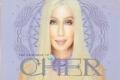 CHER Very Best Of Cher CD USA Promo Postcard