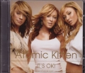 ATOMIC KITTEN It's Okay! Enhanced UK CD5 w/Video