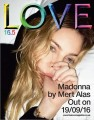 MADONNA Love Magazine (9/16/16) UK Magazine