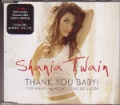 SHANIA TWAIN Thank You Baby! UK CD5 w/Green Version