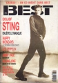 STING Best (2/91) FRANCE Magazine
