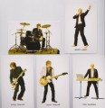 DURAN DURAN Set Of Five (5) UK Profile Cards