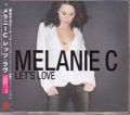 MELANIE C Let's Love JAPAN CD5 w/4 Tracks
