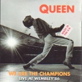 QUEEN We Are The Champions UK CD5