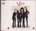 VIXEN Edge Of A Broken Heart UK  CD5 w/ LIVE TRACKS