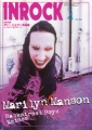 MARILYN MANSON Inrock (4/01) JAPAN Magazine