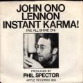 JOHN LENNON Instant Karma! USA 7