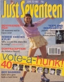 JOHNNY DEPP Just Seventeen (6/30/93) USA Magazine