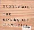 EURYTHMICS The King & Queen Of America UK CD5 w/Wooden Box