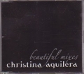 CHRISTINA AGUILERA Beautiful Mixes EU CD5 Promo w/6 Mixes