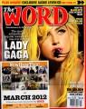 LADY GAGA The Word (3/12) UK Magazine