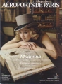 MADONNA Aeroports De Paris (9/08) FRANCE Magazine